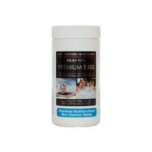 Spa Stabilised Multifunctional Mini (20g) Chlorine Tablets